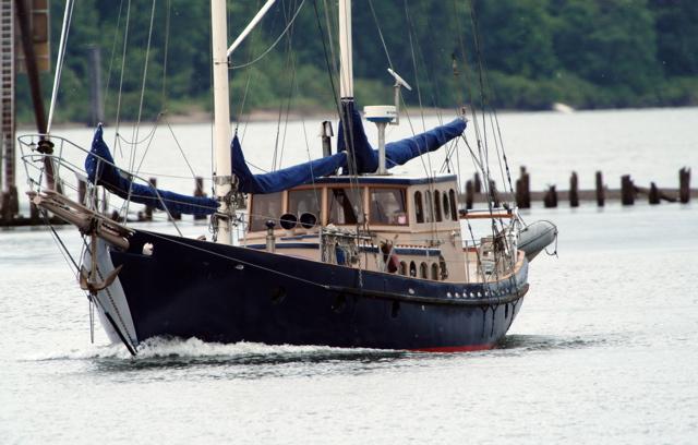 Lungta, Ferrocement Sailing Ketch